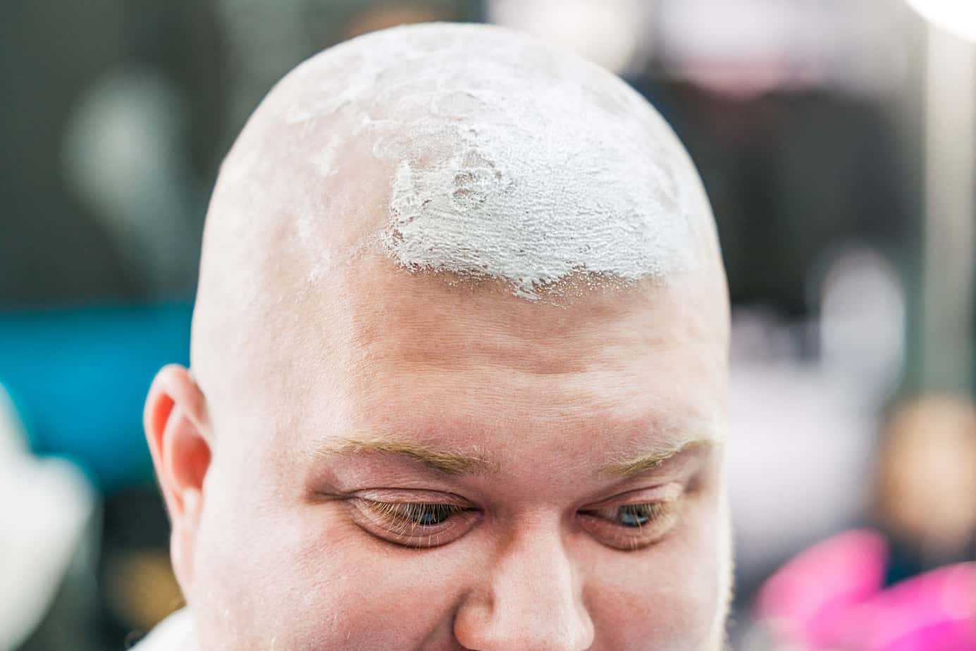 shaving your head