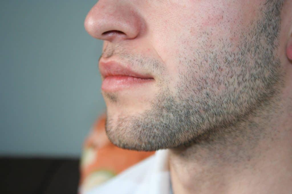 A man's face